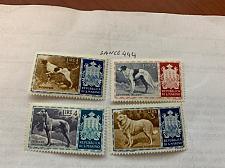 Buy San Marino Dogs mnh 1956 stamps #abc