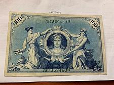 Buy Germany 100 mark banknote 1908