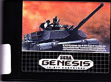 Buy M-1 Abrams Battle Tank Sega Genesis 1991 Video Game - Good