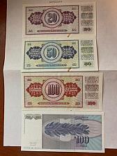 Buy Yugoslavia dinara uncirc. banknotes 1981