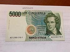 Buy Italy Bellini 5000 lire uncirculated banknote #5