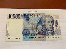 Buy Italy Volta uncirculated banknote 10000 lira 1984 #23