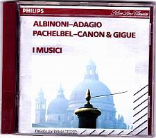 Buy I Music by Albinoni - Adagio - Pachelbel - Canon & Gigue Concerto CD 1970 - Good