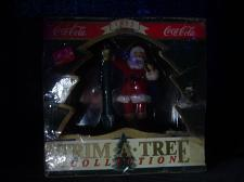"Buy Coca-Cola Presents- 1994 ""Santa At The Lamp Post"" Christmas Ornament"