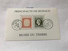 Buy Monaco Stamp Museum s/s 1992 mnh stamps