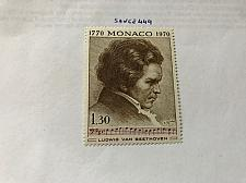 Buy Monaco Beethoven Painting 1970 mnh stamps