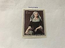 Buy Monaco Charlotte Grimaldi Painting 1973 mnh stamps