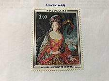Buy Monaco Princess Louise Hippolyte Painting 1970 mnh stamps