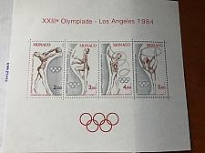 Buy Monaco Olympic games s/s 1984 mnh stamps
