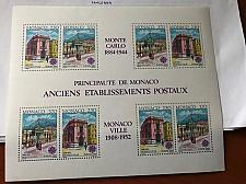 Buy Monaco Europa s/s 1990 mnh stamps