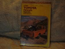"Buy Vintage:Clymer Shop Manual ""Toyota Pick-ups"" 1968-1979"
