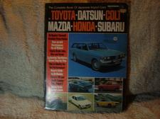 "Buy Peterson Repair Manual 1972 #02391 ""The Complete Book Of Japanese Import Cars"""
