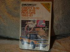 "Buy Chilton's Repair Manual 1982-1987 ""Chevy"" S-10 Pick-Ups / GMC S-15 Pick-Ups"