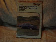 Buy Clymer Ford Shop Manual 1978-1983 #A174 Fairmont / Mercury Zephyr