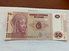 Buy Congo 50 francs unc. banknote 2013