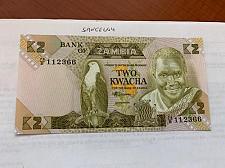 Buy Zambia 2 kwacha unc. banknote 1988