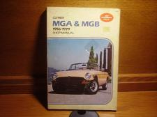 "Buy Clymer MGA & MGB Shop Manual #A165 ""High Performance How To"" 1956-1979"