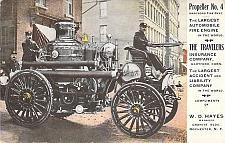 Buy Propeller No 4 Fire Automobile Fire Engine Hartford Fire Dept. Vintage Postcard