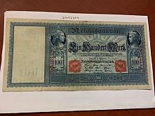 Buy Germany 100 mark large banknote 1910 a