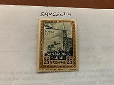 Buy San Marino 25c Posta aerea 1942 mnh stamps