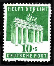 Buy German Hinged Scott #B302 Catalog Value $2.40