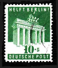 Buy German Used Scott #B302 Catalog Value $6.75