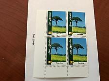 Buy San Marino Trees L.50 block mnh 1997 stamps