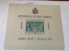 Buy San Marino Independence Monument s/s 1937 stamps