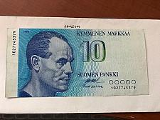 Buy Finland 10 markkaa banknote 1986 a