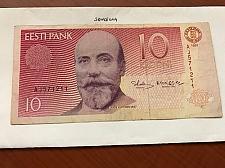 Buy Estonia 10 krooni banknote 1991
