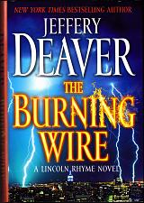Buy The Burning Wire by Jeffery Deaver 2010 Hard Cover Book - Very Good