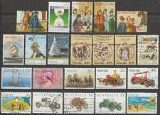 Buy [AUMI01] Australia: 22 different used commemmoratives