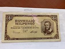 Buy Hungary 1 million pengo banknote 1946