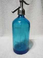Buy VINTAGE BLUE SELTZER BOTTLE STATUE OF LIBERTY DESIGN MADE IN GERMANY RARE
