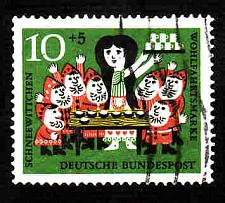 Buy German Used Scott #B385 Catalog Value $.25