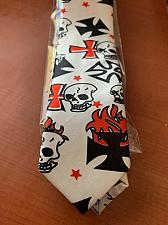 "Buy Fantastic Skull slim 2"" necktie new"