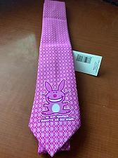 Buy Fantastic slim pink Bunny necktie