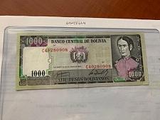 Buy Bolivia 1000 pesos banknote 1982
