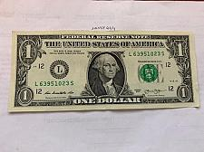 Buy United States $1.00 banknote 2013