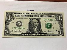 Buy United States $1.00 banknote uncirculated Year 2001