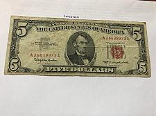 Buy United States $ 5.00 banknote 1963 #6