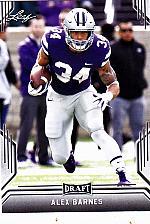 Buy Alex Barnes #2 - Titans Leaf 2019 Rookie Football Trading Card