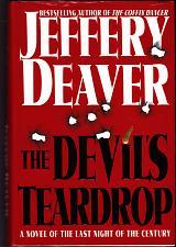 Buy The Devil's Teardrop by Jeffery Deaver 1999 Hardcover Book - Very Good