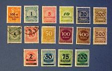 "Buy 1923 Germany ""Empire Era"" Daily Issues Stamps"