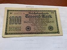 Buy Germany 1000 marks banknote 1922