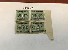 Buy Italy Segnatasse 0.25 block mnh 1945 stamps