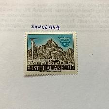 Buy Italy Club Alpino Italiano 1963 mnh stamps