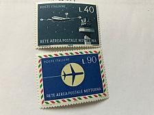 Buy Italy Night postal flights 1965 mnh stamps