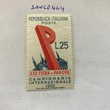 Buy Italy Padova Fair mnh 1952 stamps