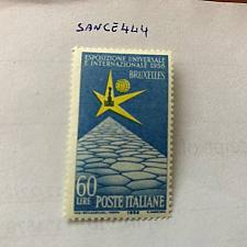 Buy Italy Brussels expo mnh 1958 stamps